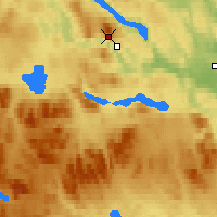Nearby Forecast Locations - Jämtland - Map