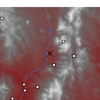 Nearby Forecast Locations - Taos - Map