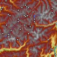 Nearby Forecast Locations - Val Müstair - Map
