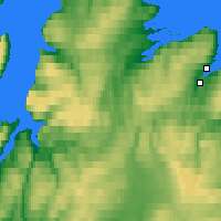 Nearby Forecast Locations - Berlevåg - Map