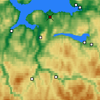 Nearby Forecast Locations - Trondheim/voll - Map
