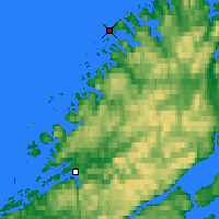 Nearby Forecast Locations - Buholmråsa Lighthouse - Map