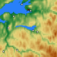 Nearby Forecast Locations - Kvithammer - Map