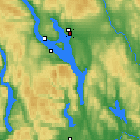 Nearby Forecast Locations - Hamar - Map