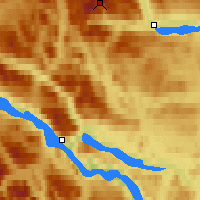 Nearby Forecast Locations - Tarfala Valley - Map