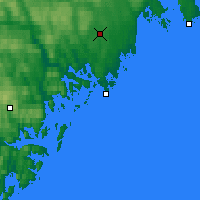 Nearby Forecast Locations - Örnsköldsvik - Map