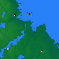 Nearby Forecast Locations - Eggegrund - Map