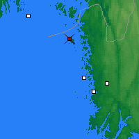 Nearby Forecast Locations - Koster Islands - Map