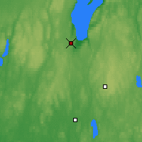 Nearby Forecast Locations - Jönköping - Map
