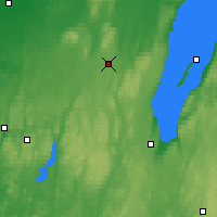 Nearby Forecast Locations - Kymbo - Map