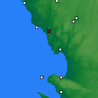 Nearby Forecast Locations - Broen - Map