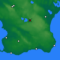 Nearby Forecast Locations - Hörby - Map
