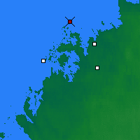 Nearby Forecast Locations - Kokkola Tankar - Map