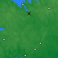 Nearby Forecast Locations - Hämeenlinna - Map