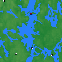 Nearby Forecast Locations - Luhanka Judinsalo - Map