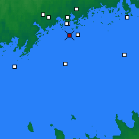 Nearby Forecast Locations - Töölö - Map