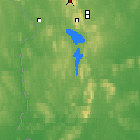 Nearby Forecast Locations - Kittila Laukukero - Map