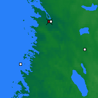 Nearby Forecast Locations - Pori rautatieasema - Map