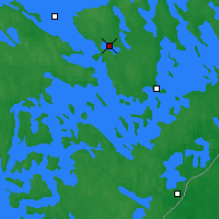 Nearby Forecast Locations - Savonlinna - Map
