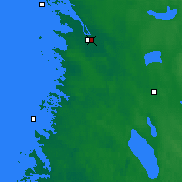 Nearby Forecast Locations - Pori - Map