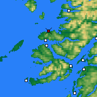 Nearby Forecast Locations - Ardnamurchan - Map