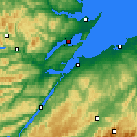 Nearby Forecast Locations - Cromarty - Map