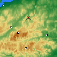 Nearby Forecast Locations - Glenlivet - Map