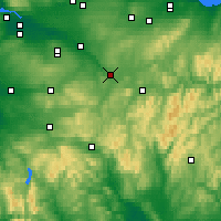 Nearby Forecast Locations - Lanark - Map