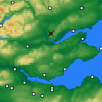 Nearby Forecast Locations - Scone - Map