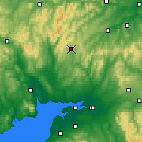 Nearby Forecast Locations - Eskdalemuir - Map