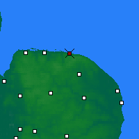 Nearby Forecast Locations - Cromer - Map