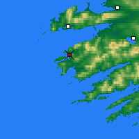 Nearby Forecast Locations - Valentia Is - Map