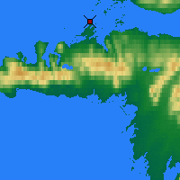 Nearby Forecast Locations - Stykkishólmur - Map