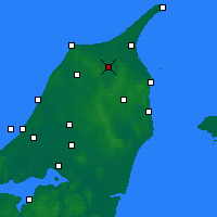 Nearby Forecast Locations - Sindal - Map