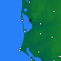 Nearby Forecast Locations - Stauning - Map
