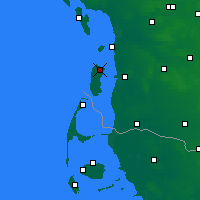 Nearby Forecast Locations - Romo Island - Map