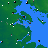 Nearby Forecast Locations - Sønderborg - Map