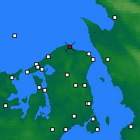 Nearby Forecast Locations - Nakkehoved - Map