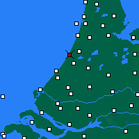 Nearby Forecast Locations - Noordwijk - Map