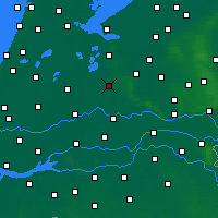 Nearby Forecast Locations - Utrecht - Map