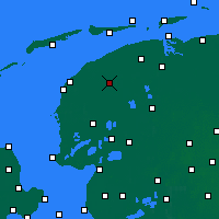 Nearby Forecast Locations - Leeuwarden - Map