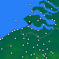 Nearby Forecast Locations - Vlissingen - Map