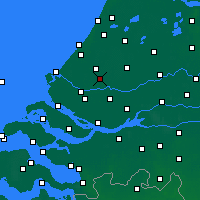 Nearby Forecast Locations - Rotterdam - Map