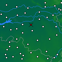 Nearby Forecast Locations - 's-Hertogenbosch - Map