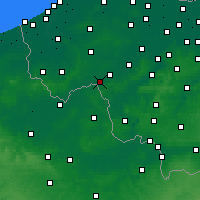 Nearby Forecast Locations - Wevelgem - Map