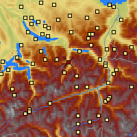 Nearby Forecast Locations - Glarus - Map