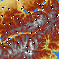 Nearby Forecast Locations - Blatten - Map