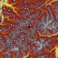 Nearby Forecast Locations - Scuol - Map