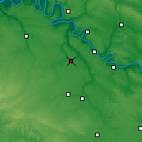 Nearby Forecast Locations - Évreux - Map