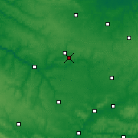 Nearby Forecast Locations - Méaulte - Map